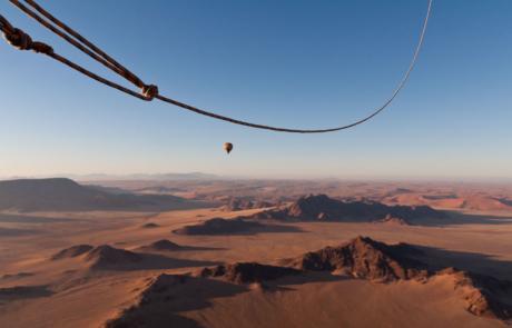 Ballonvaart Namibie Sossosvlei