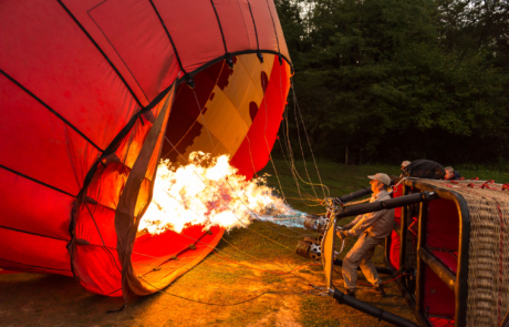 Ballonvaart Toscane fotoreis