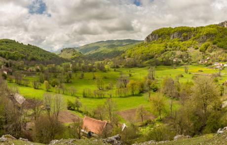 Bergen Dinarisch karstgebergte
