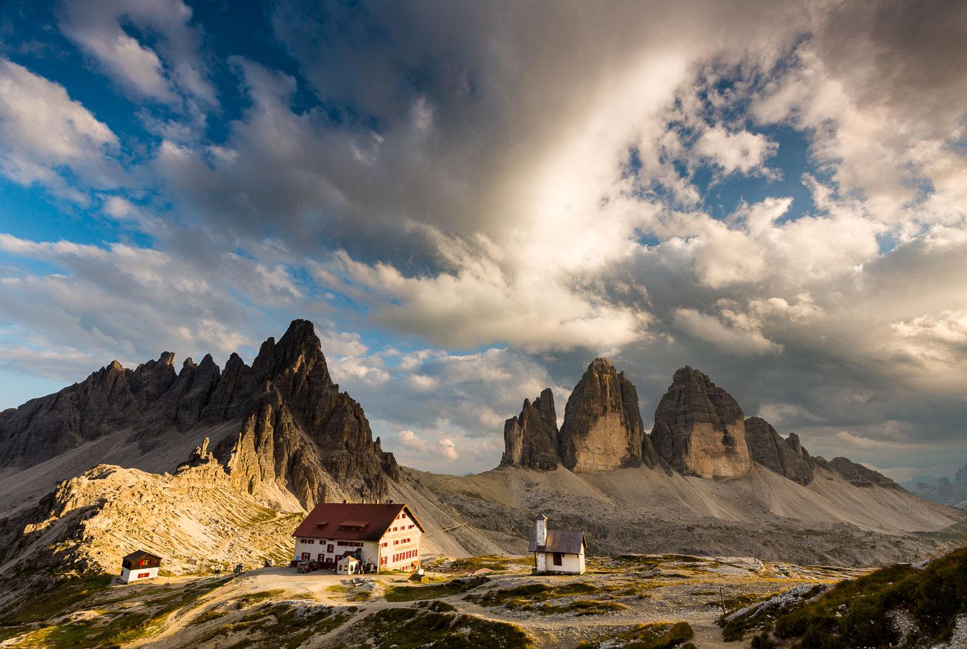 Bergfotografie fotoreis cursus Tre Cime