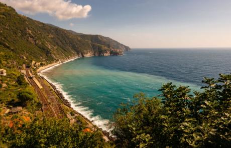 Cinque Terre Kust Middellandse Zee