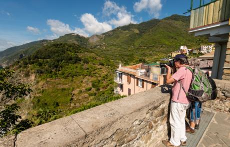 Deelnemer Fotoreis Cinque Terre Ligurië Italie