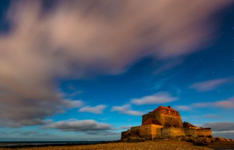 Fort Opaalkust nachtfotografie