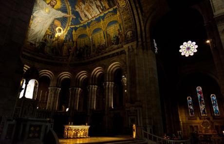 Fotograferen kerk Parijs