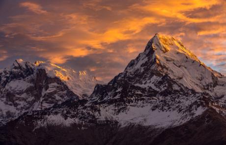 Himalaya Bergen Landschapsfotografie Nepal