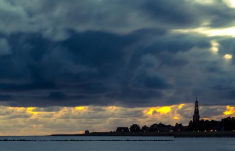 Hindeloopen avondfotografie landschapsfoto Friesland