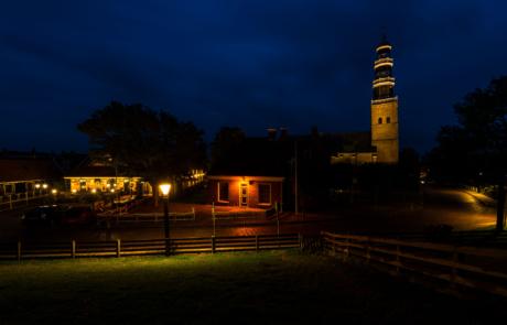 Hindeloopen nachtfotografie blauwe uur