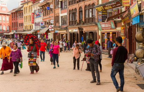 Kathmandu Bhaktapur Patan Thamel fotoreis