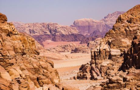 Landschap Wadi Rum Woestijn