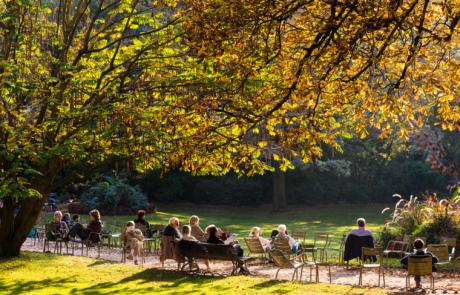 Straatfotografie Parijs Luxembourg Jardin