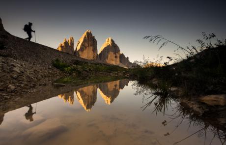 Tre Cime Drei Zinnen fotoreis Italie Dolomieten Alpen