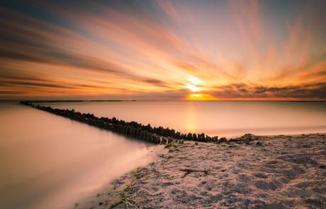 Zonsondergang IJsselmeer leren fotograferen