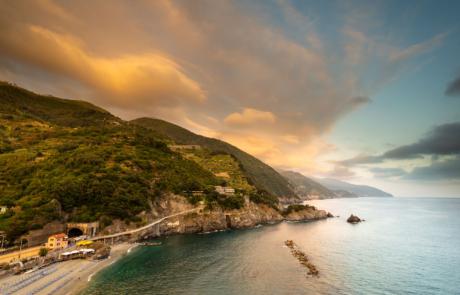 Zonsondergang Monterosso Al Mare
