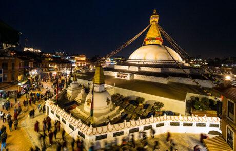 Kathmandu Tempel Avondfotografie Fotoreis