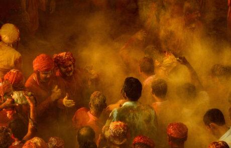 Tips voor het fotograferen van het Holi Festival in Nepal India